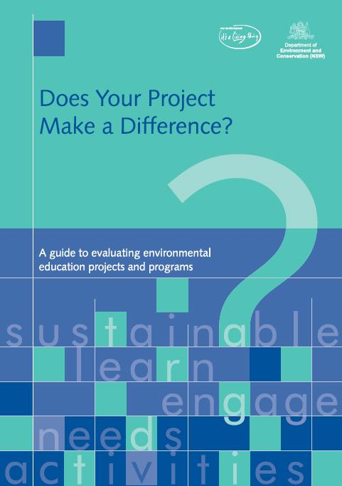 Does your project make a difference